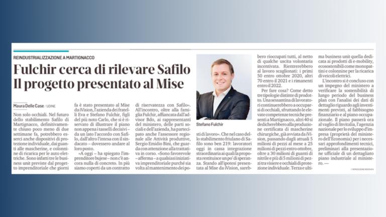 Articolo Messaggero Veneto
