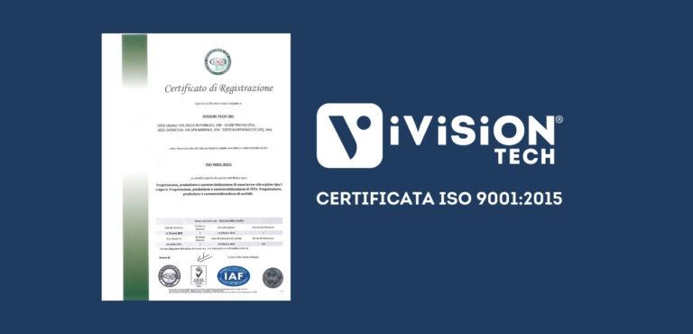 iVision Tech certificazione